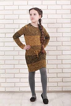 Платье  детское Татьяна Филатова модель 159 коричневый