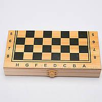 Набор игр: шашки, шахматы и нарды (40x20,5)