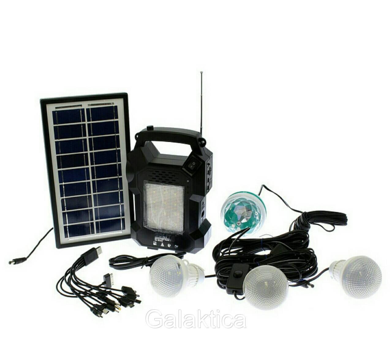 Фонарь, солнечная система GD-8050