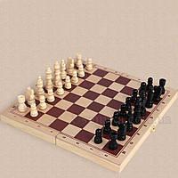 Настольная игра 3 в 1 шахматы, шашки и нарды (40x20,5)
