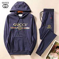 13fd13f3c01d Мужской спортивный костюм Gucci с капюшоном и принтом логотипа