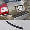 Jeep Compass 2007-2011 пластиковая накладка заднего бампера