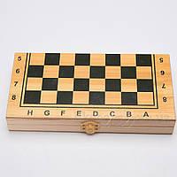 Игровой набор 3 в 1 шашки, шахматы и нарды 40x20*5 см 62105, фото 1