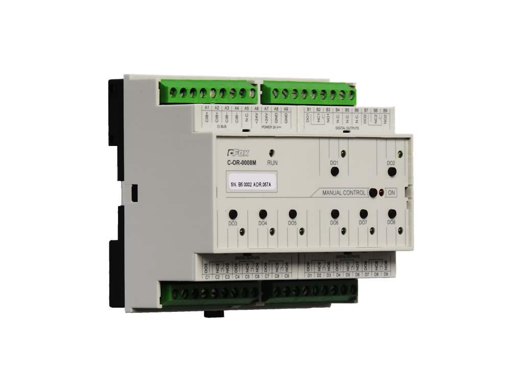 C-OR-0008M модуль с релейными выходами
