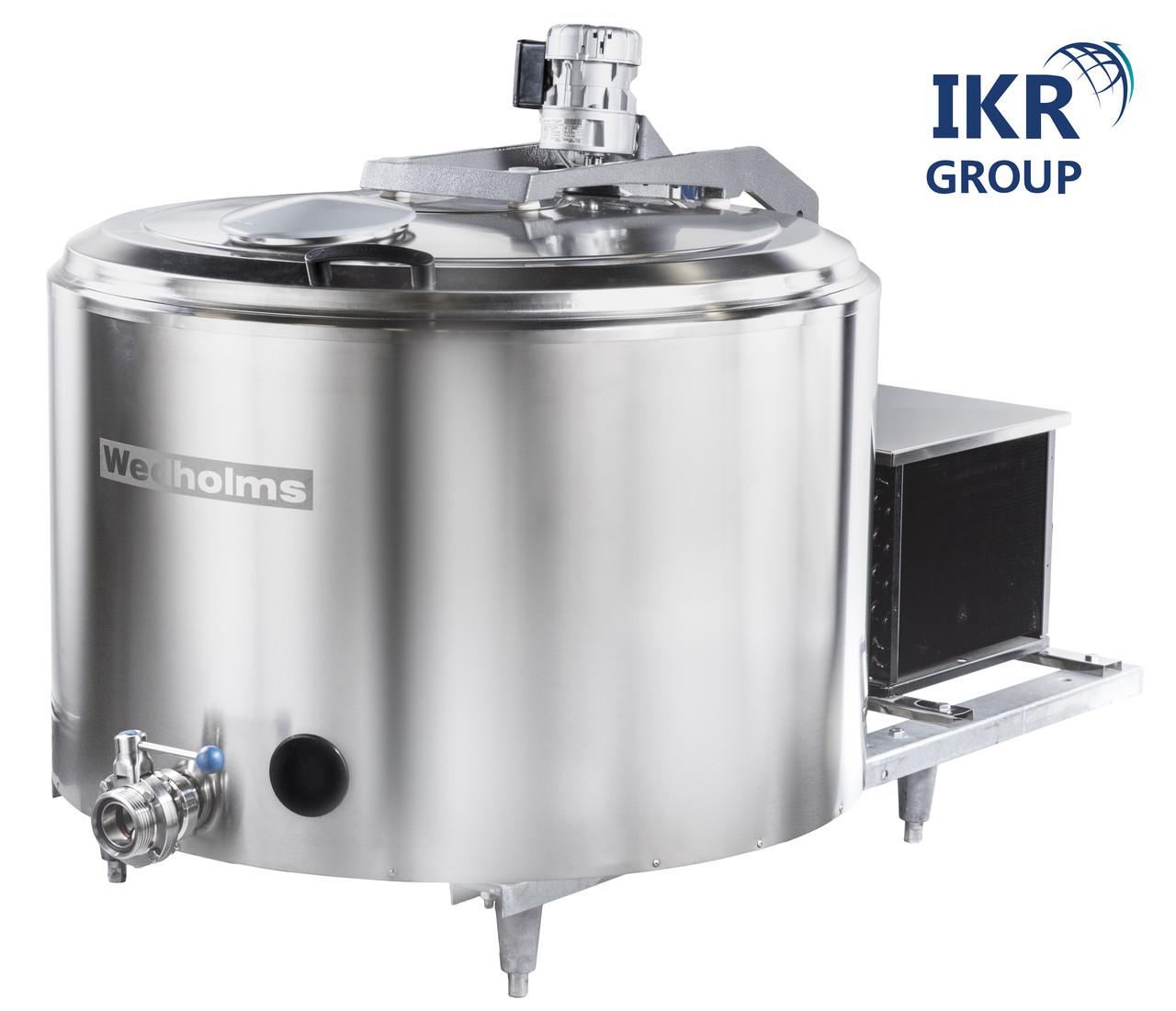 Охладитель молока новый Wedholms объемом 400 литров / Охолоджувач молока