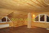 Деревянная вагонка из сибирской лиственницы размер 14х96 /121 мм, длина 3,0, 4,0 м сорт Эк, фото 7