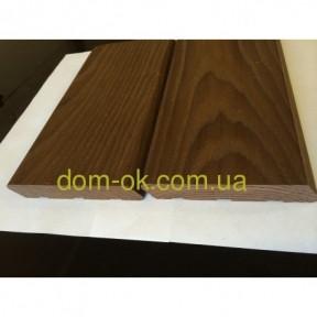 Планкен из термоясеня, фасадная доска термоясень   размер 21х90 мм , длина планок  1,0-3,0 м