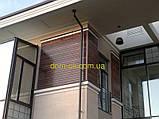 Планкен из термоясеня, фасадная доска термоясень   размер 21х90 мм , длина планок  1,0-3,0 м, фото 2