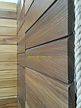 Планкен из термоясеня, фасадная доска термоясень   размер 21х90 мм , длина планок  1,0-3,0 м, фото 7