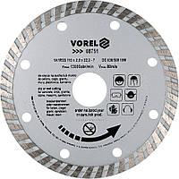 Диск отрезной алмазный TURBO D - 115 мм - VOREL