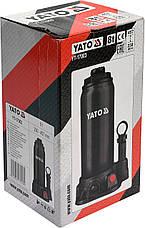 Гідравлічний домкрат 8 тонн YATO YT-17003, фото 2