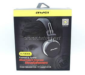 Наушники беcпроводные awei A700BL с Bluetooth, MP3 и FM