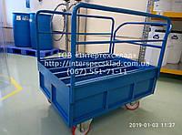 Тележка грузовая для бочки перевозки ёмкостей с жидкостью