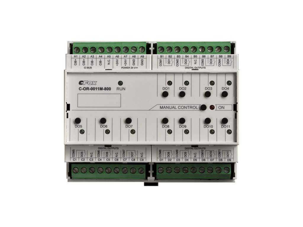 C-OR-0011M-800 модуль с релейными выходами