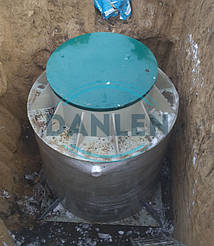 Шеф-монтаж станции биологической очистки DANLEN DL-10 7