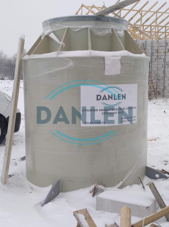 Шеф-монтаж станции биологической очистки DANLEN DL-10