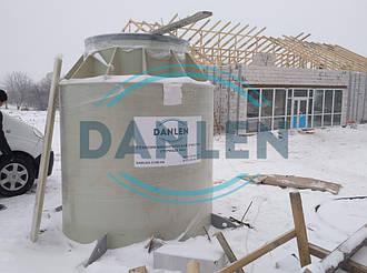 Шеф-монтаж станции биологической очистки DANLEN DL-10 3