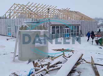 Шеф-монтаж станции биологической очистки DANLEN DL-10 6