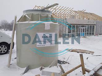 Шеф-монтаж станции биологической очистки DANLEN DL-10 15