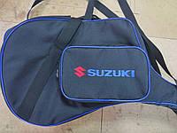 Чехол на лодочный мотор SUZUKI 2,5 с карманом- сумкой