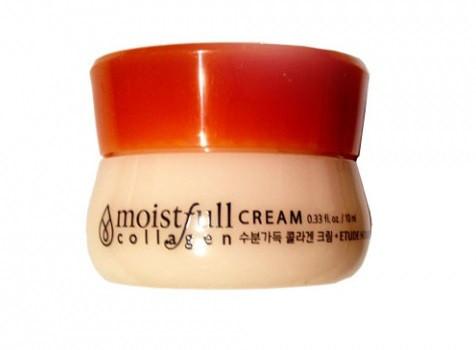 Etude House Moistfull Collagen cream Увлажняющий крем с коллагеном, 10 мл