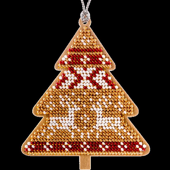 Набор для вышивания бисером по дереву FLK-157