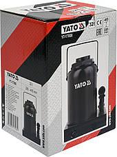 Бутылочный домкрат 32 тонны YATO YT-17008, фото 2