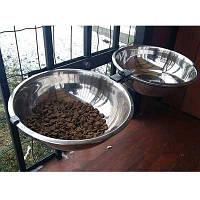 Стойка Animall Энимал вольерная с мисками для собак 2 х 3,0 л.