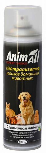 Аерозоль Animall Енімал нейтралізатор запаху домашніх тварин з ароматом лайма 500 мл