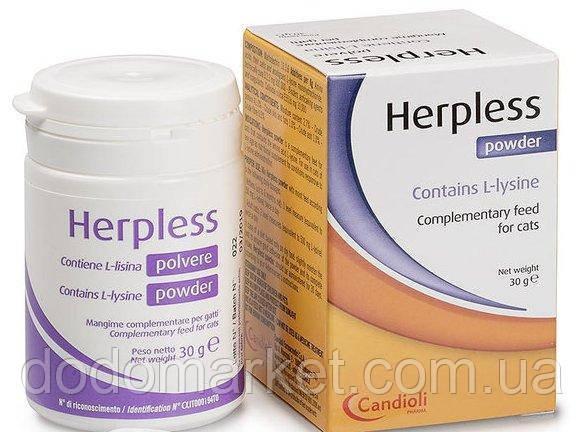 Противовирусный препарат для кошек Candioli Herpless Powder 30 гр