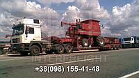 Перевозка негабаритных грузов Кривой Рог - Запорожье. Негабарит. Аренда трала.