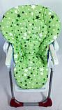 Односторонний чехол на стульчик для кормления Chicco Polly Magic, фото 6