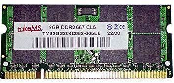 """Оперативная память TakeMS SO-DIMM DDR2-667 2048MB PC2-5300 """"Over-Stock"""" Б/У"""