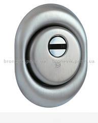 Броненакладка DISEC DIAMOND BKD250 DIN OVAL 25мм Нерж.сталь_мат 3клас IT Зовнішній