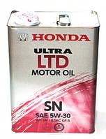 Масло моторное Honda Ultra LTD 5W-30, 4л