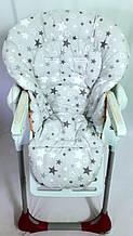 Односторонний чехол на стульчик для кормления Chicco Polly Magic