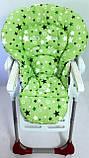 Односторонний чехол на стульчик для кормления Chicco Polly Magic, фото 4