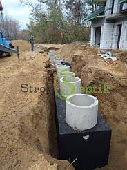 Хозяйственно-бытовая и ливневая канализация для 5-ти таунхаусов с.Вита-Почтовая 2