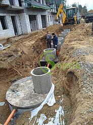 Хозяйственно-бытовая и ливневая канализация для 5-ти таунхаусов с.Вита-Почтовая 4