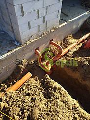 Хозяйственно-бытовая и ливневая канализация для 5-ти таунхаусов с.Вита-Почтовая 6
