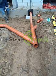 Хозяйственно-бытовая и ливневая канализация для 5-ти таунхаусов с.Вита-Почтовая 9