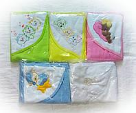 Полотенце уголок для новорожденных, фото 1