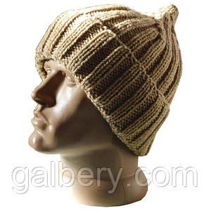 Зимняя шапка шлем ручной работы