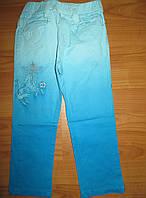 Котоновые брюки для девочек Nice Wear 74-80-86 рр