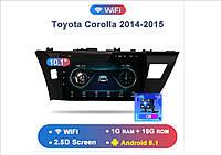 Junsun 4G Android магнитола для Toyota Corolla E180 2014-2015 wifi