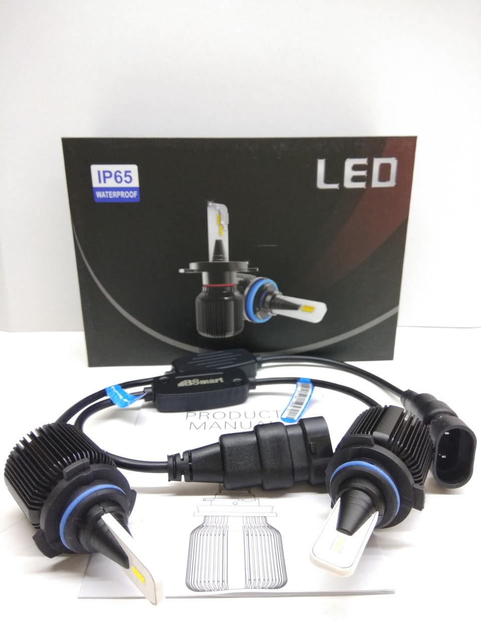 Автолампы LED M1 CSP(Южная Корея), HB4(9006), 8000LM, 40W, 9-32V