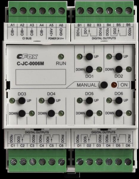 C-JC-0006M Модуль приводов жалюзи