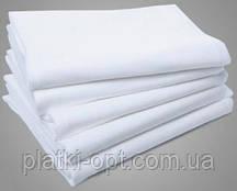 Простынь белая (синтетика) 220*150 (от 10 шт)