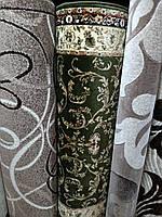Ковровая дорожка Цветочный луг зеленая Турция, фото 1