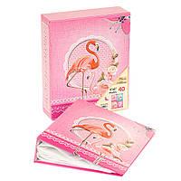 """Альбом для фотографий """"Flamingo"""" (40 фото 10х15)"""